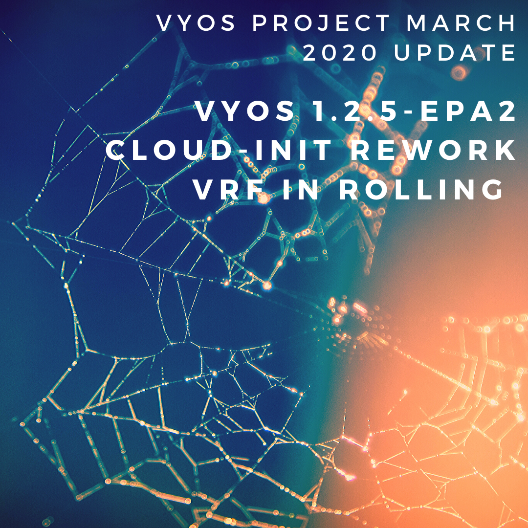 VyOS Project March 2020 Update